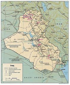 Iraq and the Bible / Article written by biblical archaeologist Dr. Wood, Associates for Biblical Research Iraq Map, Tarot, Cool Things To Buy, Things To Come, Asia Map, Ancient Near East, Secret Code, Article Writing, Political News