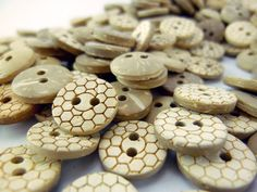 bee hive button