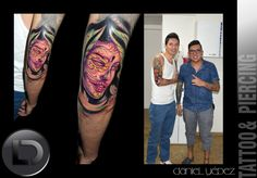 Catrina tattoo color Artist Daniel Yepez Realism, portraiture, Color, Grey whatsapp 0989812096 mail: tattookdt@hotmail... Quito- Ecuador