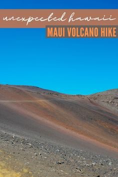 Best Hikes On Maui | Haleakala Sliding Sands Trail | Volcano Crater Hiking In Hawaii Travel Guide Hawaii Travel Guide, Maui Travel, Travel Destinations, Kauai, Maui Hawaii, Pearl Harbor, Travel With Kids, Family Travel, Viajes