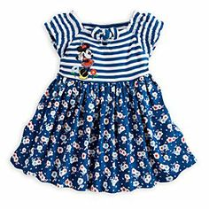 Disney Minnie Mouse Floral Woven Dress for Baby   Disney Store