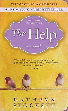 The Help - by Kathryn Stockett I read the book first and loved it, then watched the movie. I think the movie was made better by having the book knowledge, there was a lot of background information left out of the movie. Books To Buy, I Love Books, Great Books, Books To Read, Big Books, Up Book, This Is A Book, Book Nerd, The Help Book