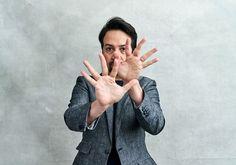 Lin Manual Miranda, His Dark Materials, Lip Biting, Manuel Miranda, Lin Manuel, Photo Sessions, Atticus, Actors, Celebrities