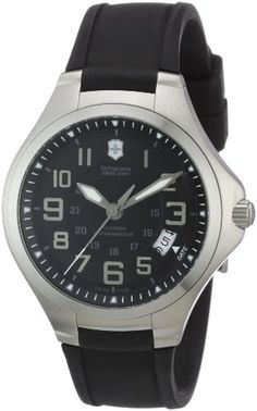 Men's Wrist Watches - Victorinox Swiss Army Mens 241462 Base Camp Black Watch >>> Click image for more details. (This is an Amazon affiliate link)