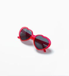 Heart sunglasses from Zara