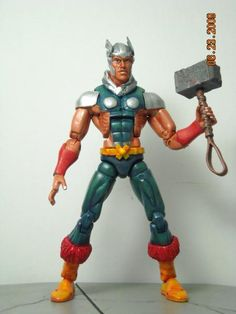 this is a marvel legends WODEN Custom Action Figure he was made by figure realmer jazz04porche he used a captain marvel body the rest was sculpted happy pinning