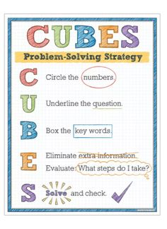 picture regarding Cubes Math Strategy Printable identified as 20 Suitable CUBES Math Tactic photos within just 2014 Math insider secrets