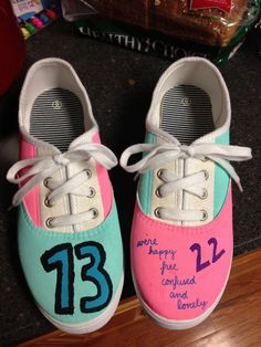 Customizable Taylor Swift Shoes by kayleyhayscreations on Etsy,