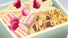 Those Cookies That Just Seem to Pop Up in Every Anime Series Ever: Checkerboard…