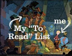 "My ""To Read"" list & me ... Image of Young Arthur in Merlin's tower from The Sword in the Stone (1963) © Walt Disney Animation Classics."