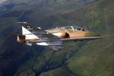 BAe Hawk T1a 4 FTS RAF Valley 19 shadow Sqdn anniversary colours. (2008)