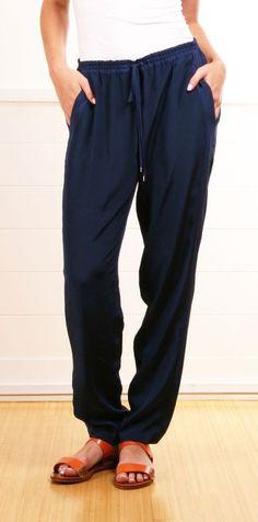 Comfy Blue Pants.