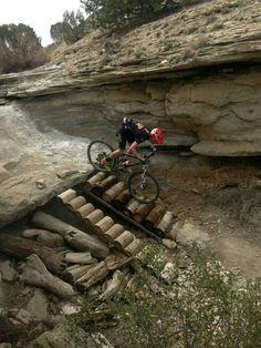 Paths for mountain biking