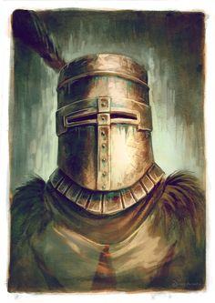 "Print ""Solaire of Astora""Size A4"
