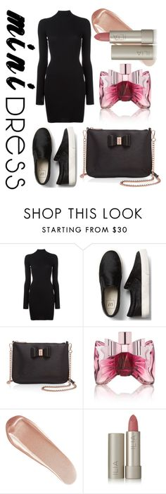 """mini dress"" by libil ❤ liked on Polyvore featuring adidas Originals, Ted Baker, Viktor & Rolf, NARS Cosmetics and Ilia"
