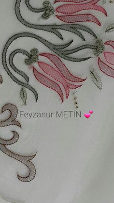 Discover thousands of images about Shadow embroidery Zardozi Embroidery, Hand Embroidery Flowers, Hand Embroidery Stitches, Hand Embroidery Designs, Embroidery Techniques, Beaded Embroidery, Kutch Work Designs, Embroidery Suits Design, Brazilian Embroidery