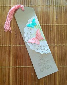 Stampin' Up! Australia: Kylie Bertucci Independent Demonstrator: Stampin' Up… Paper Bookmarks, Corner Bookmarks, Diy And Crafts, Crafts For Kids, Paper Crafts, Caleb Y Sophia, Homemade Bookmarks, Bookmark Craft, Book Markers