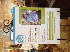 Meet Linda Woodrum @WoodchucksFC today 5/4/13 for a behind the scenes look at the @HGTV #SmartHome