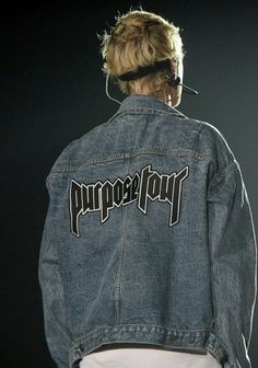 08f853db101a custom raglan denim trucker for the by fearofgod · Purpose Tour ClothingJustin  Bieber ...
