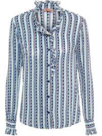 Camisa Listra Floral Azul