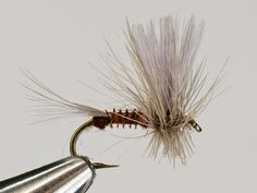 Recipe for a Biot Thorax Dun.  Notice the slightly clipped hackle on the bottom - lets the fly ride a bit lower.