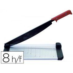 Guillotina metalica de palanca con base de aluminio en formato fotográfico, precisa y muy fácil de utilizar con cuchilla de acero de gran calidad con filo cortado al láser. Capacidad de corte: 8 hojas, longitud de corte: 320 mm. (Din A4).