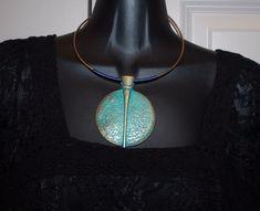 elegant choker tribal vintage antique look necklace pendant alloy jewelry
