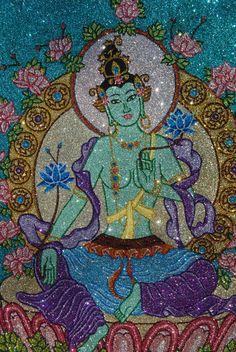 Green Tara #buddha #buddhism #buddhist #art #bodhisattva #guanyin #kuanyin #quanyin #tara