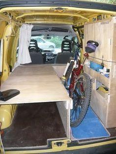 Almost perfect van interior. Diy Van Camper, Build A Camper Van, Camper Van Life, Mini Camper, Camper Van Conversion Diy, Pickup Camping, Van Camping, Bus Interior, Campervan Interior