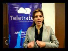 Durante el encuentro empresarial que se llevó a cabo el 12 de julio en el CUN CLUB, para la firma del Pacto de Teletrabajo, la viceministra de las Tecnologías de la Información y las Comunicaciones, María Carolina Hoyos, extendió la invitación para que empresarios,profesionales y ciudadanos asistan a la Primera Feria Internacional de Teletrabajo el 26 y 27 dejulio en Corferias, Bogotá.