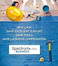 #SpectrumBusinessPartnerProgram = the same trusted partner