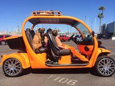 Family time in a custom Gem car by Innovation Motorsports. #personalgemcar #summer2014 #hermosabeach