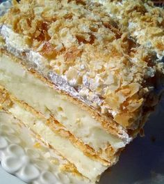 Afternoon Tea, Vanilla Cake, Sweet Recipes, Cookies, Ethnic Recipes, Desserts, Food, Lasagna, Bread
