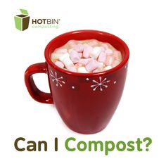 Day 9 Composting Marshamllows, nuts and other cozy items in the #HOTBIN this #Christmas. http://www.hotbincomposting.com/blog/christmas-composting-chestnuts.html | #recycling #waste #compost