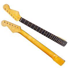 22 Frets Rosewood Fingerboard Electric Guitar Neck #Affiliate