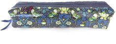 Liberty of London - Box Pencil Case - Strawberry Thief Blue