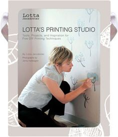 Lotta's Printing Studio, Lotta Jansdotter, $19.95