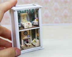 Dollhouse Miniature RoomBox♡ ♡ by shopKristi