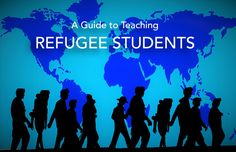 Teachers facing the challenges of teaching refugee students, get information from Pampered Teacher blog