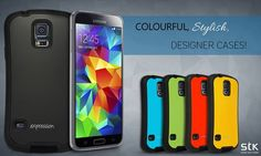 Colourful, Stylish, Designer cases. Protective screen protectors. And much more for the #GalaxyS5! #STKAccessories