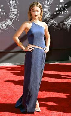Sarah Hyland: 2014 VMAs | Red Carpet 24/7 | Us Weekly