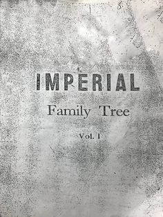 by Stephen Cenon D. Talla In the 70's during one of the Grand Reunions of the Imperial clan, Luis G. Dato presented the Imperial Family Tree Volume One. It is a 40-page typewritten document enumerating thousands of members. The Imperials, its origin has been the subject of debates among the Bikolanos (or among its heirs)... 2 Brothers, Reunions, The Heirs, Father And Son, Revenge, Vignettes, Genealogy, Over The Years, The Originals