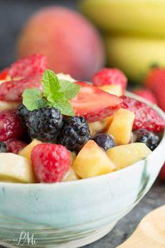 Instant Vanilla Pudding Fruit Salad RecipeReally nice recipes.  Mein Blog: Alles rund um die Themen Genuss & Geschmack  Kochen Backen Braten Vorspeisen Hauptgerichte und Desserts # Hashtag