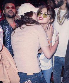 Lana Del Rey and Selena Gomez at Coachella #LDR