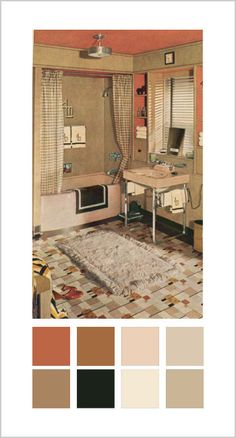 I like the colors of the 1930's and I think I want a 1940's kitchen! :)
