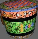 Whimsical Hand Painted Art Furniture - Bing Images