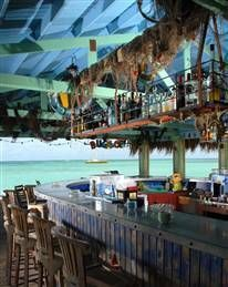 Bugaloe Beach Bar Looks like a fun place. Hope to check it our on our trip to Aruba. Aruba Restaurants, Southern Caribbean, Beach Cafe, Pool Bar, Beach Shack, Vacation Spots, Vacation Destinations, Places To Visit, Around The Worlds