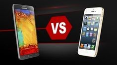 Galaxy Note 3 vs iPhone 5S Specs Video | Versus OS