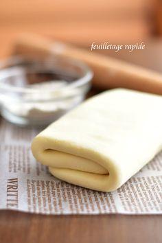 バターの風味が良くてサクサクで美味しいパイ生地です。簡単に出来ますよ~アップルパイやお料理にも…☆殿堂入り大感謝です☆