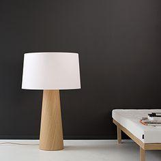SOPHIE veneer lamp with textile shade Veneer Plywood, Grow Lamps, Natural Wood, Floor Lamp, Modern, Table Lamp, Shades, Traditional, Lighting
